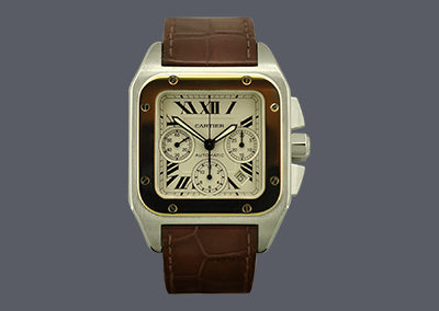 Cartier Santos 100XL Chronograph
